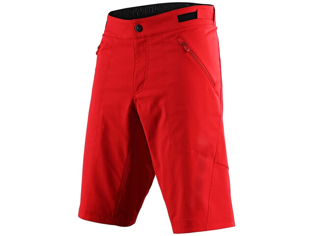 Troy Lee Designs Skyline Shell Shorts, red
